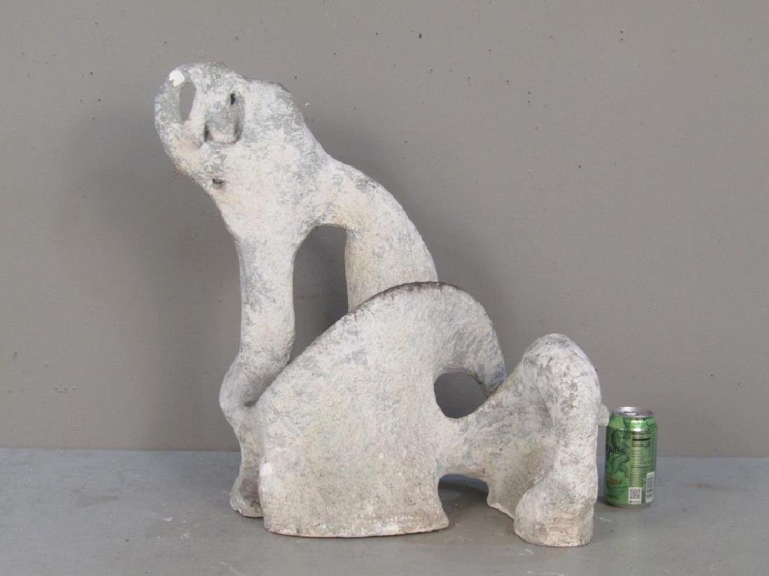 Unsigned - Plaster Abstract Sculpture - 2