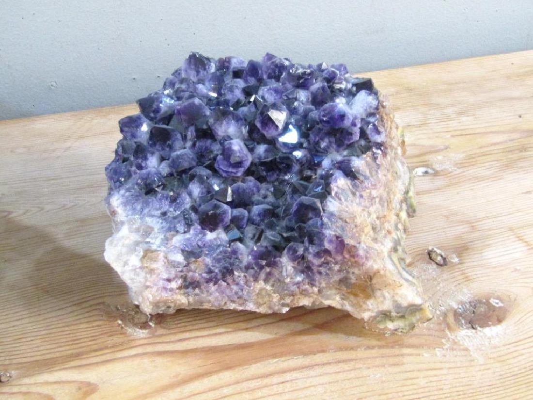 2 Large Amethyst Geodes - 4