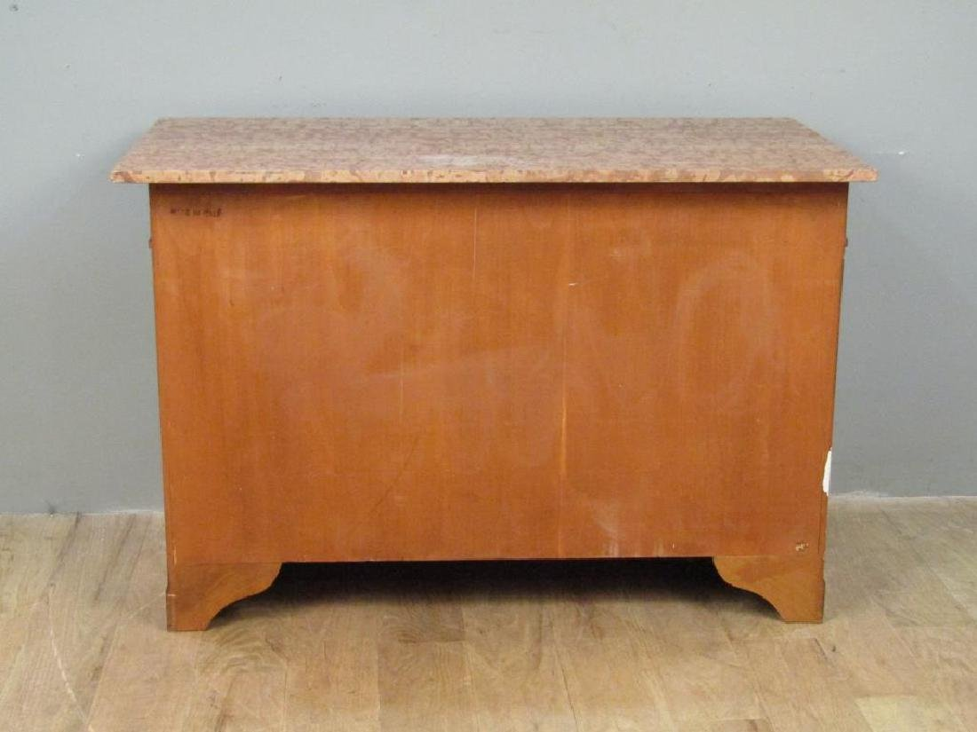 Italian Marble Top 4 Drawer Chest - 6