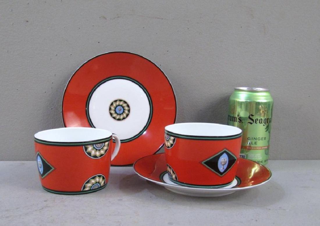 Pair Puiforcat Cups and Saucers - 2