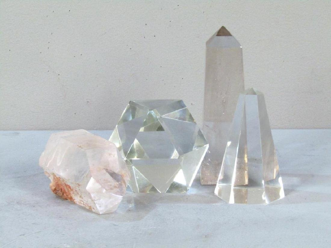 4 Glass and Crystal Articles