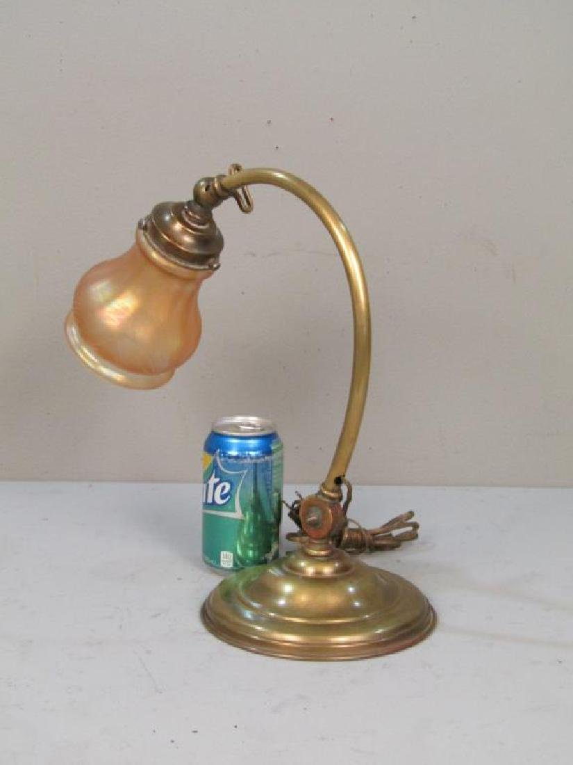 Early 20th Century Students Desk Lamp - 2