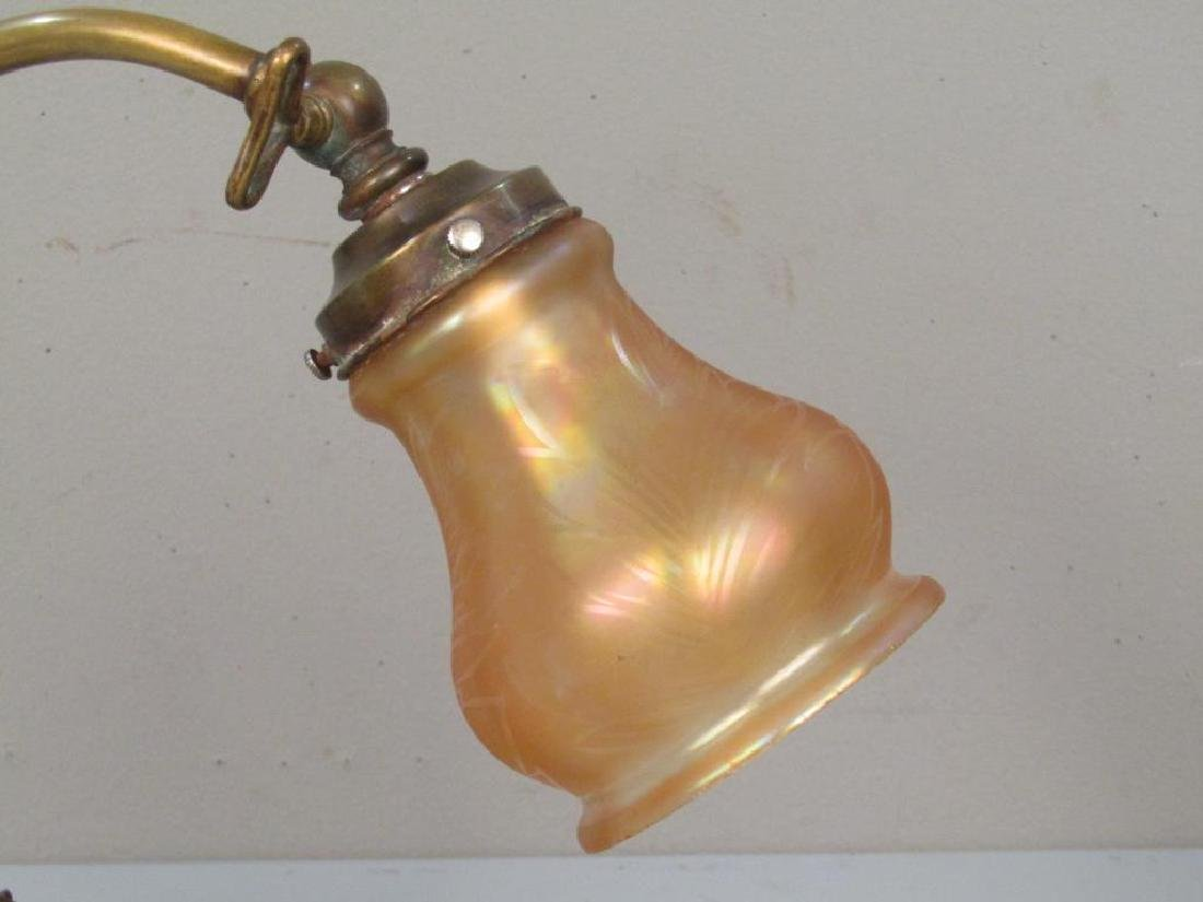 Early 20th Century Students Desk Lamp - 3