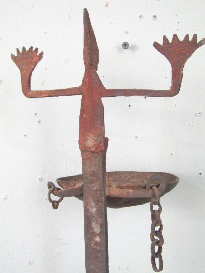 Dogon Iron Wall Lamp Sconce - 5