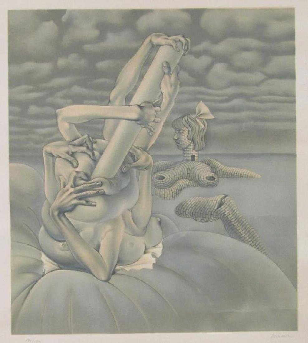 Hans Bellmer - Lithograph