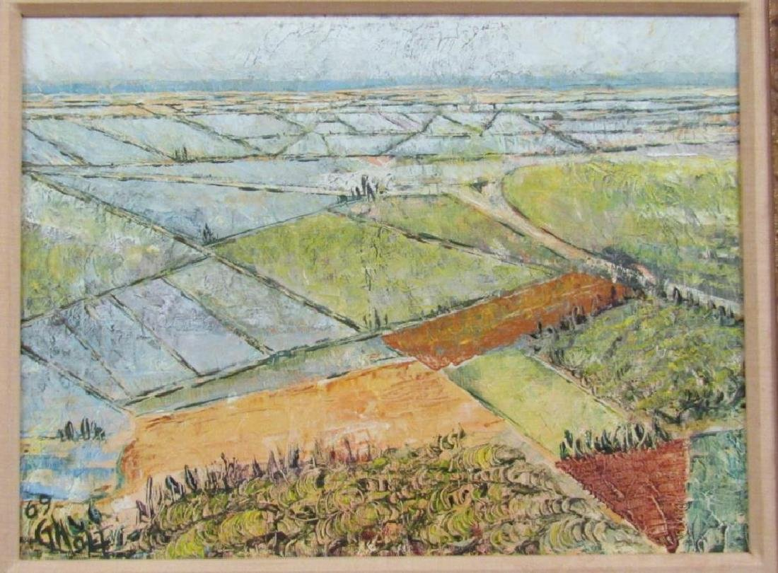 Gila Holt (British, Israeli 1910 - 2004) Oil