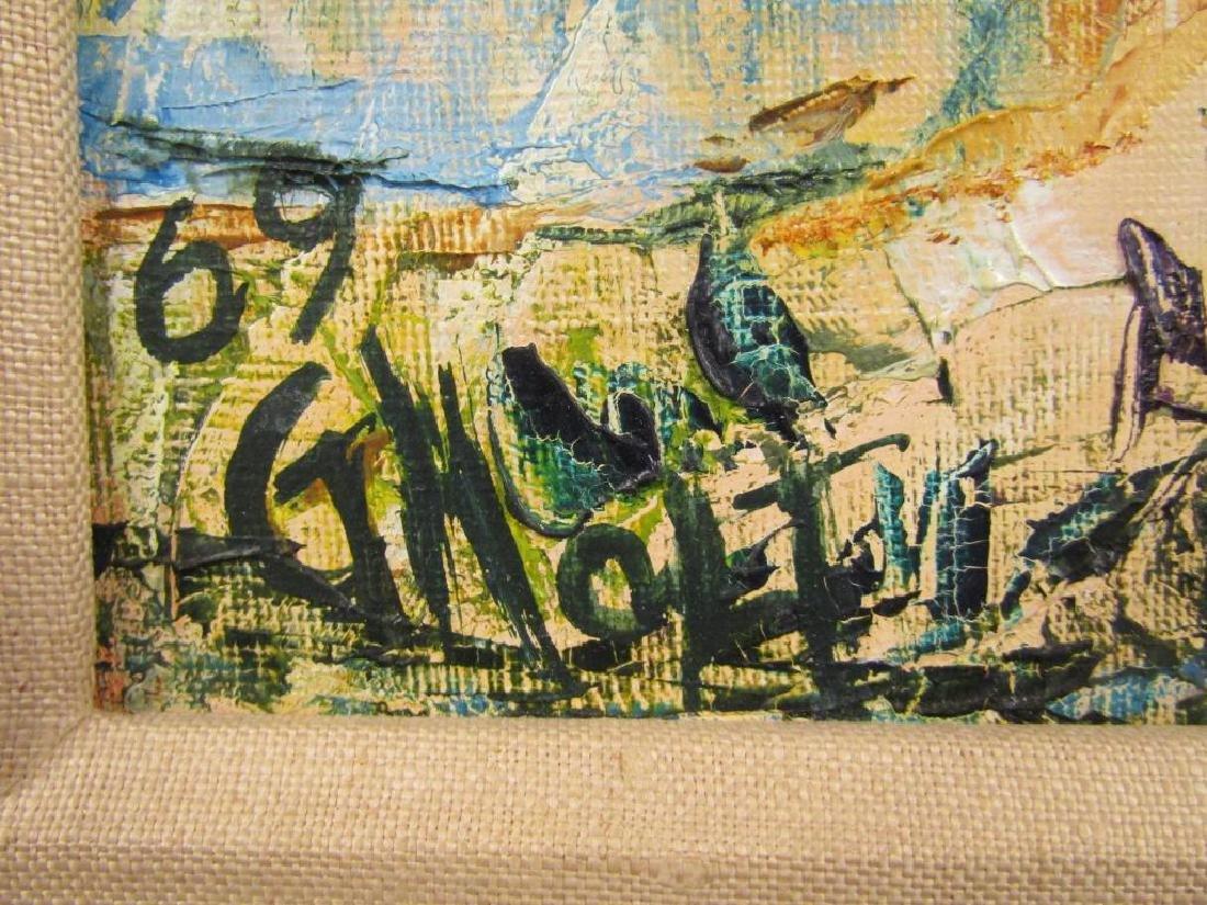 Gila Holt (British, Israeli 1910 - 2004) Oil - 7