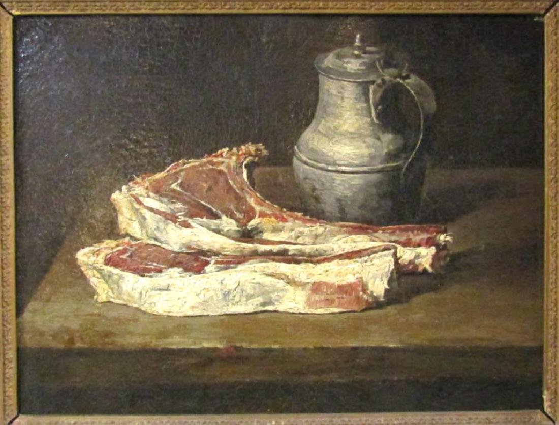 French School - Oil on Canvas