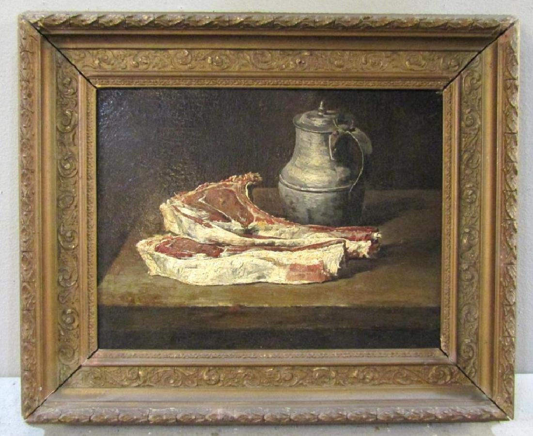 French School - Oil on Canvas - 2