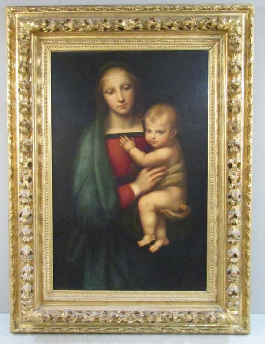 Manner of Raphael - 19th Century Oil on Canvas - 2