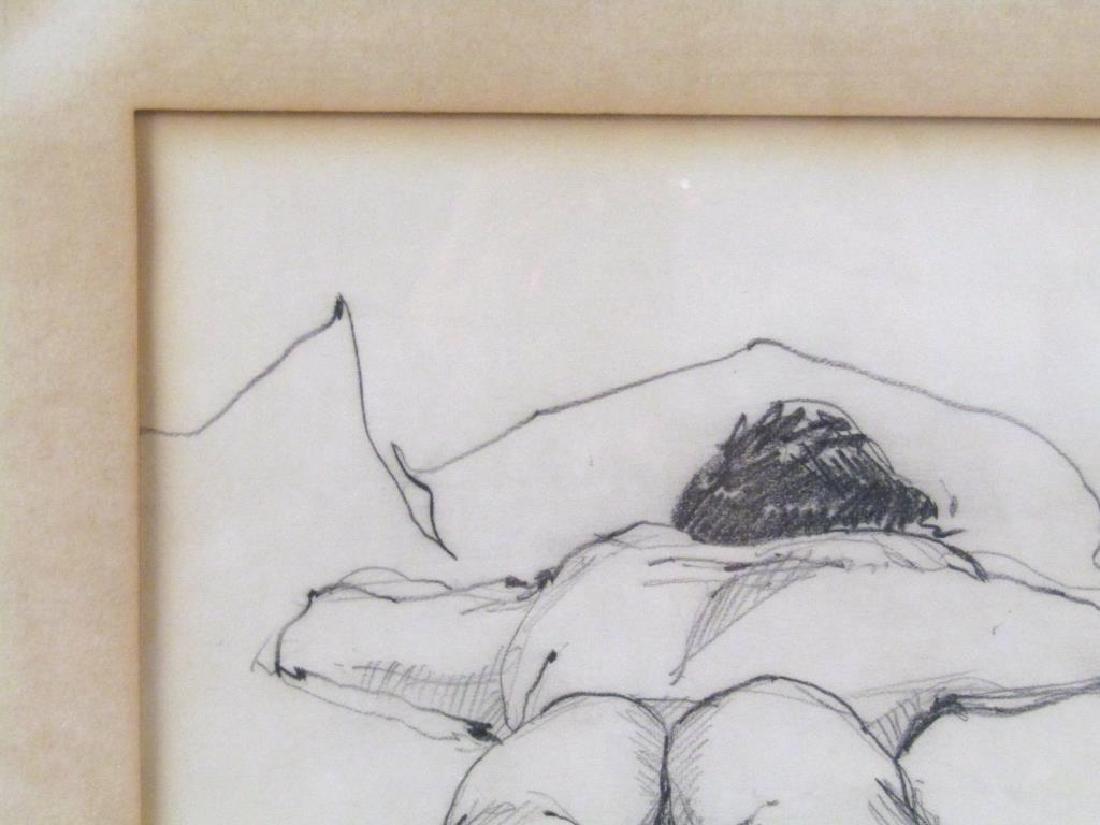 Signed Roark - Pencil on Paper - 3