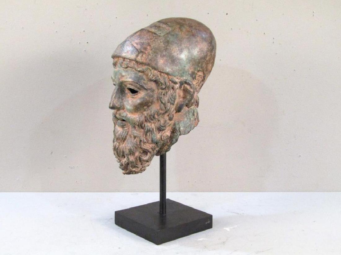 Archaic Style Bronze Head - 3
