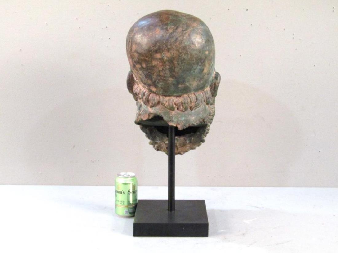 Archaic Style Bronze Head - 4