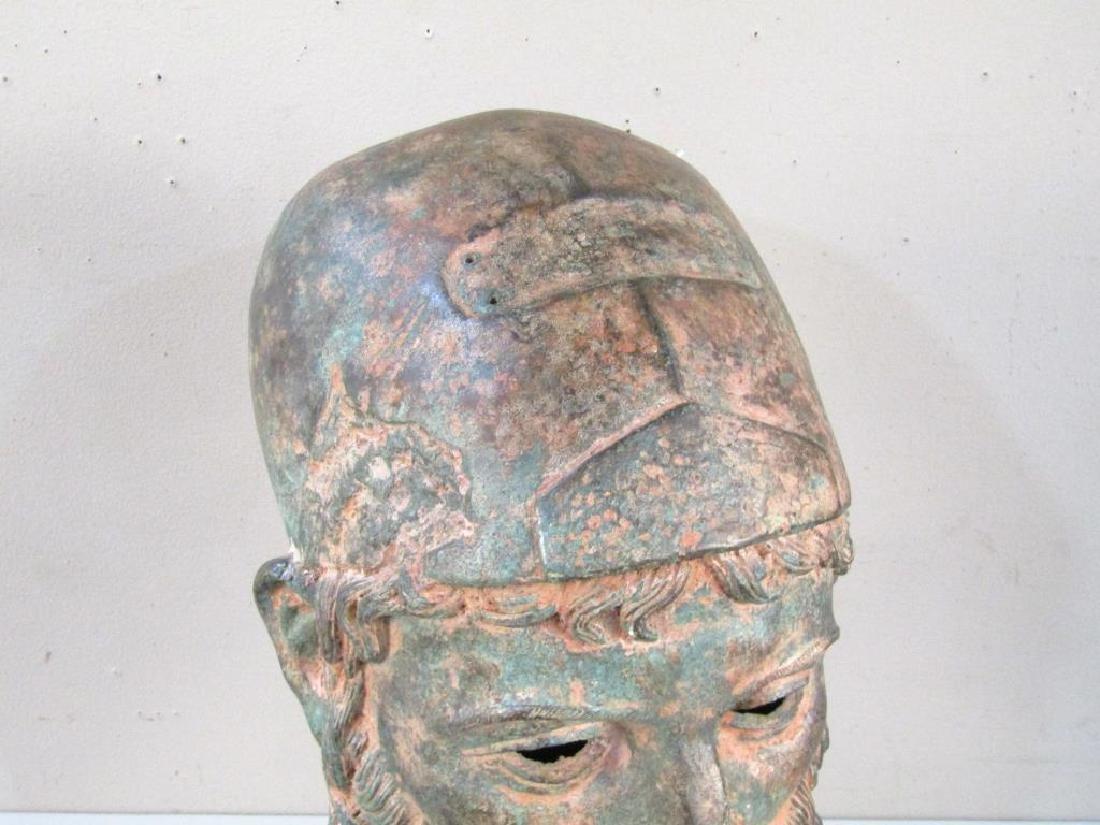 Archaic Style Bronze Head - 5