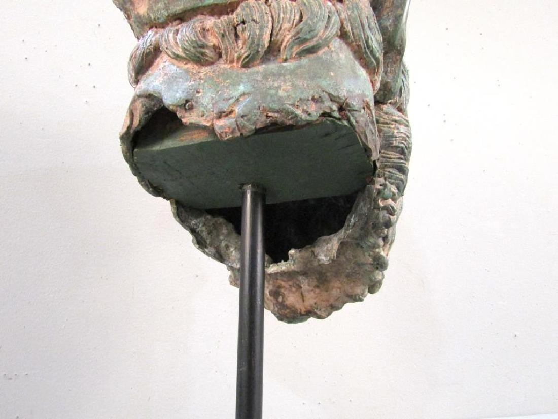 Archaic Style Bronze Head - 6