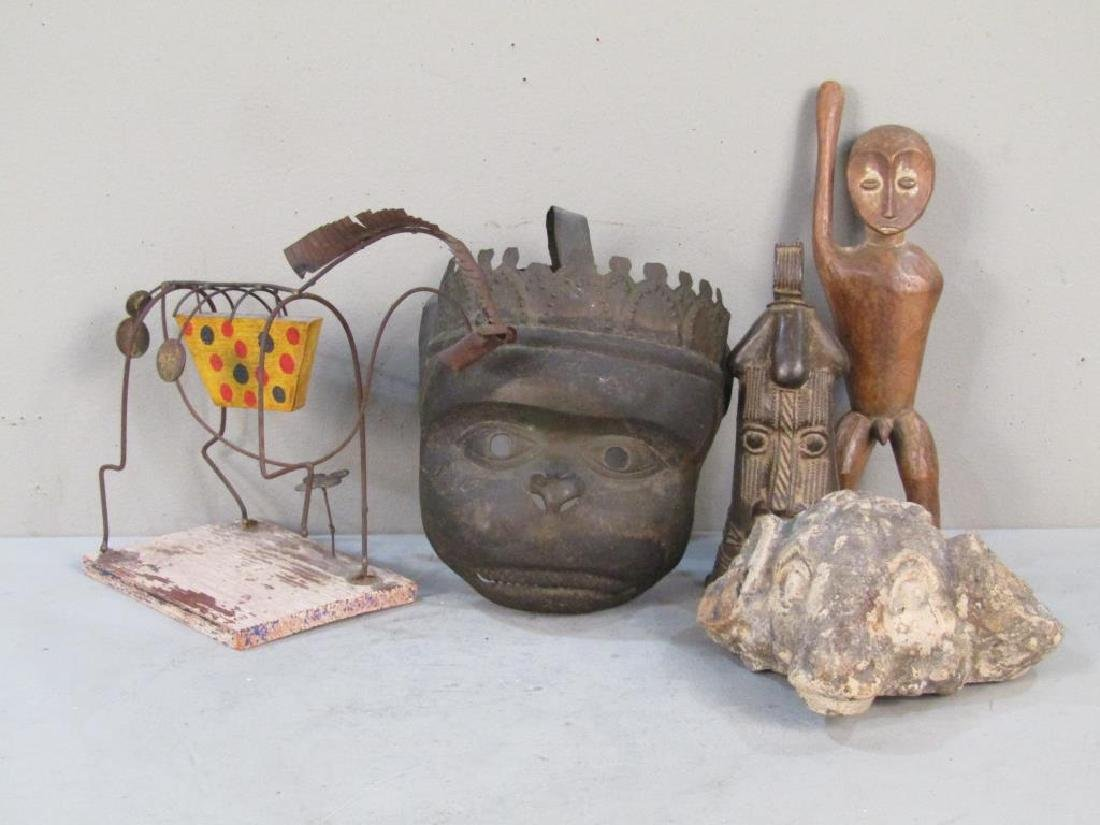 Assorted Art & Ethnic Items