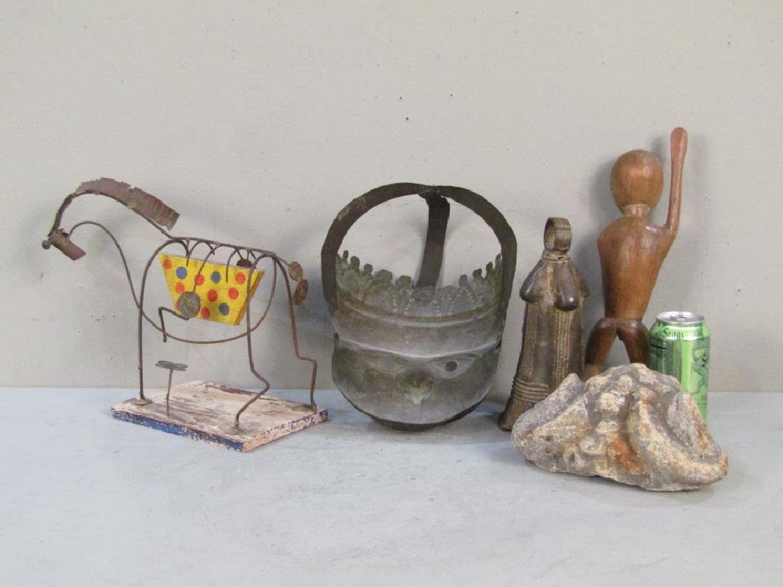 Assorted Art & Ethnic Items - 2
