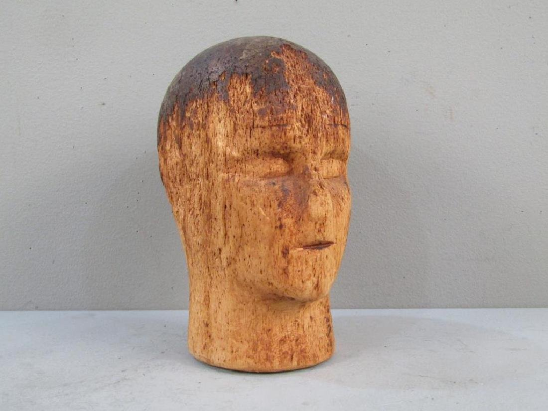 Antique French (?) Mannequin Head