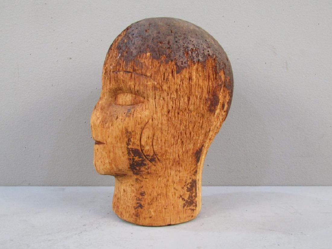 Antique French (?) Mannequin Head - 2
