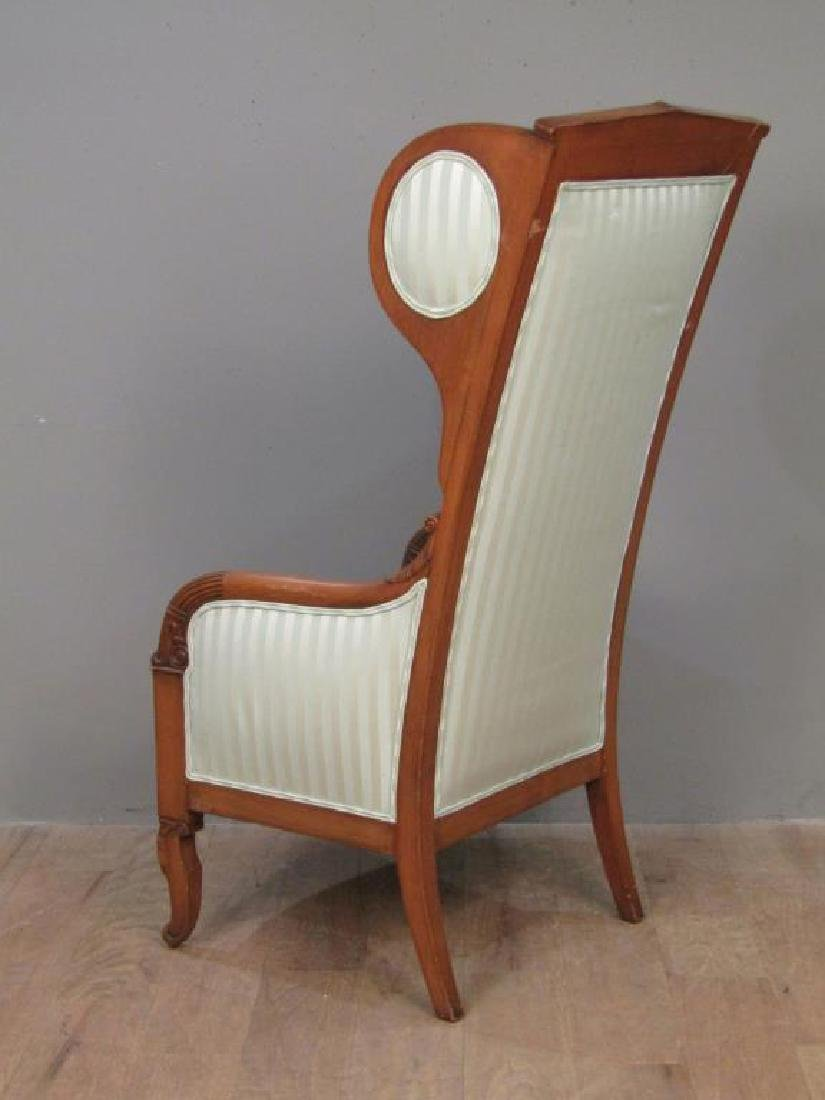 Neo-Classical Style Library Arm Chair - 2