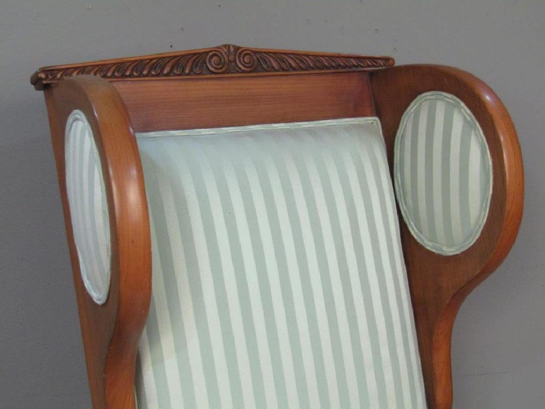 Neo-Classical Style Library Arm Chair - 3