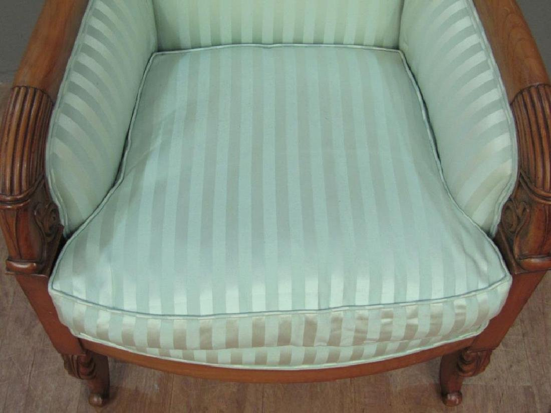 Neo-Classical Style Library Arm Chair - 4