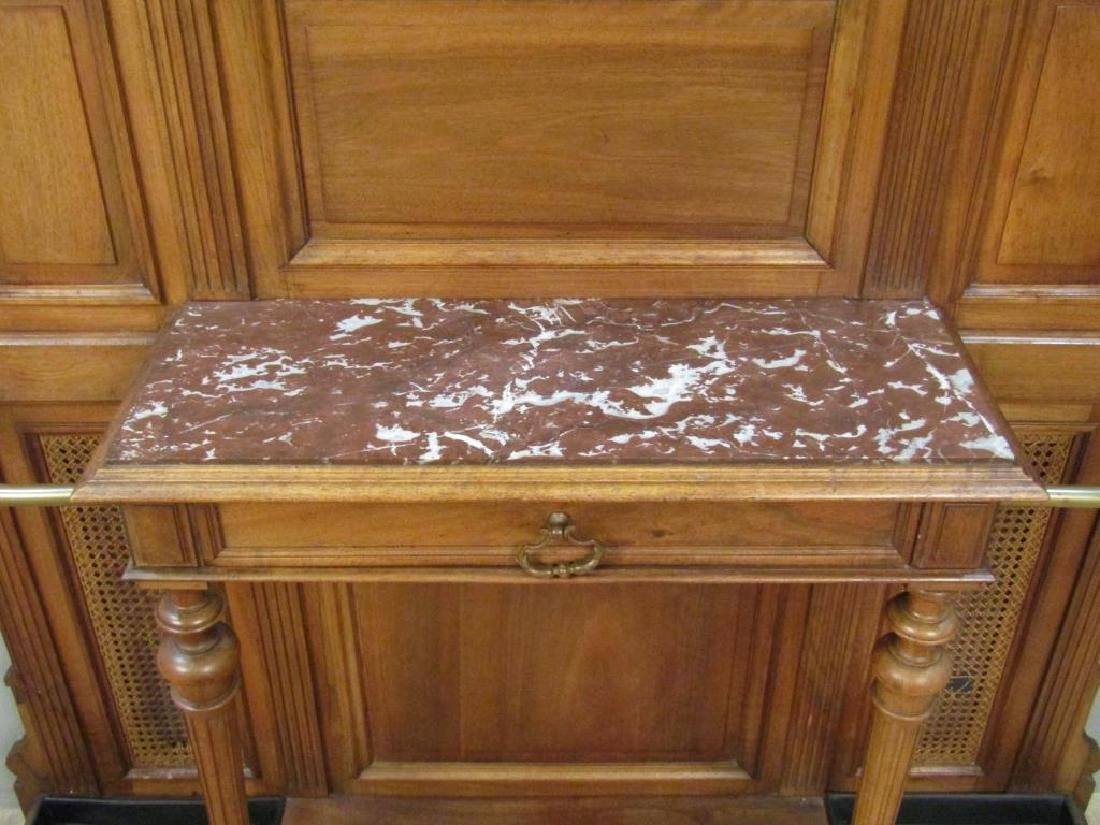 French Victorian Tall Hall Stand - 4
