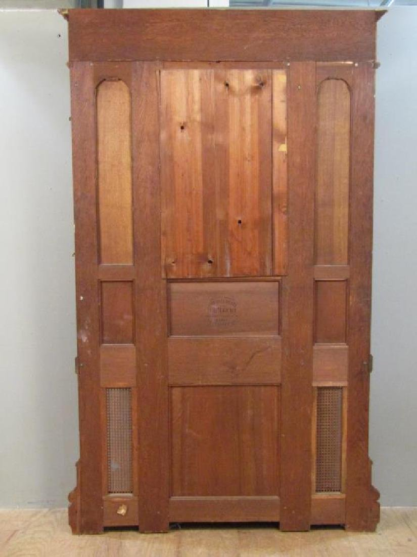 French Victorian Tall Hall Stand - 7