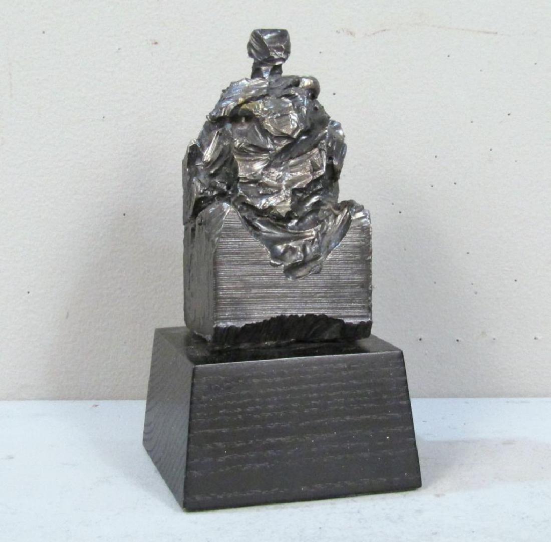 Unsigned Iron Sculpture