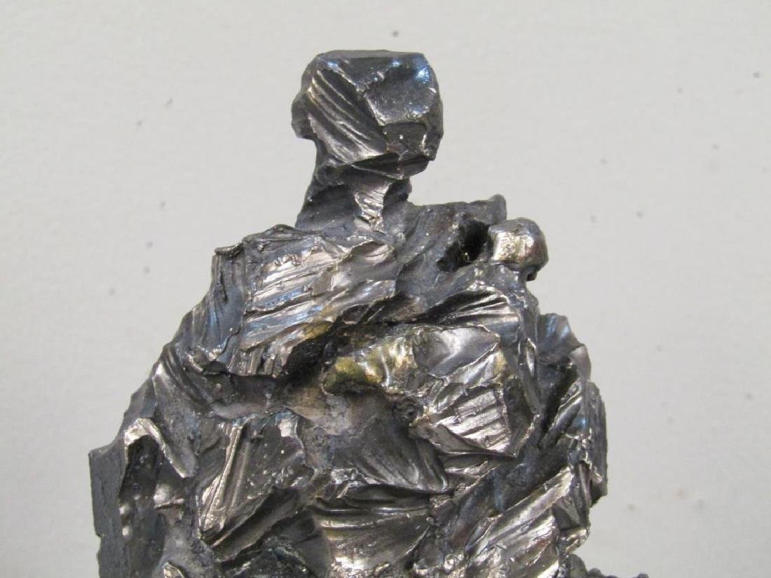 Unsigned Iron Sculpture - 3