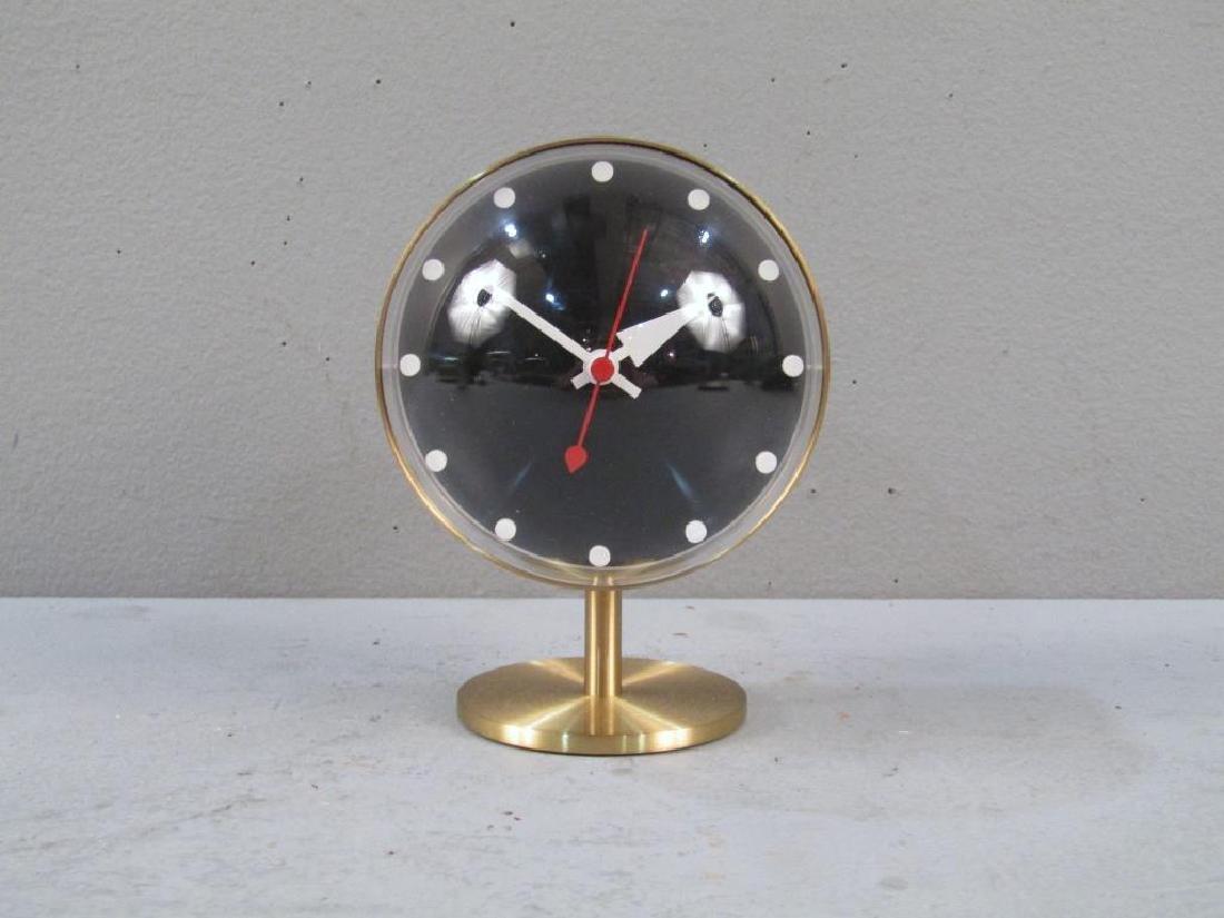 George Nelson / Vitra Brass Desk Clock