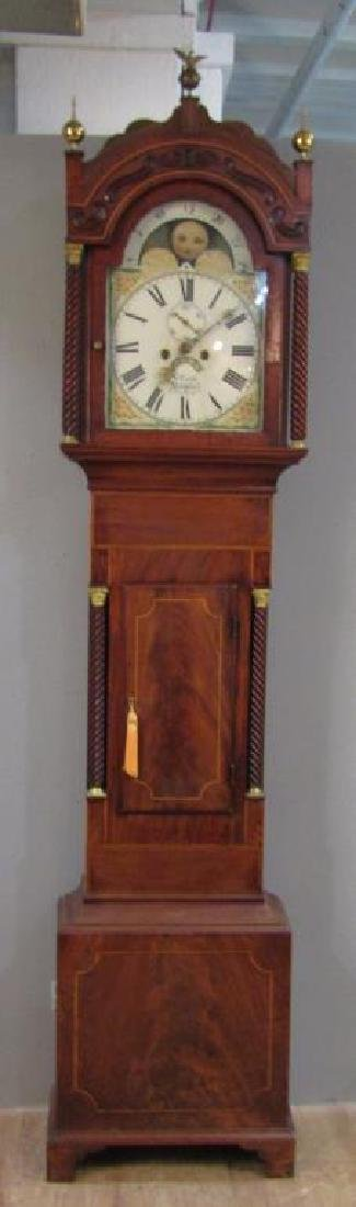 English Tall Case Clock by William Latch - 3