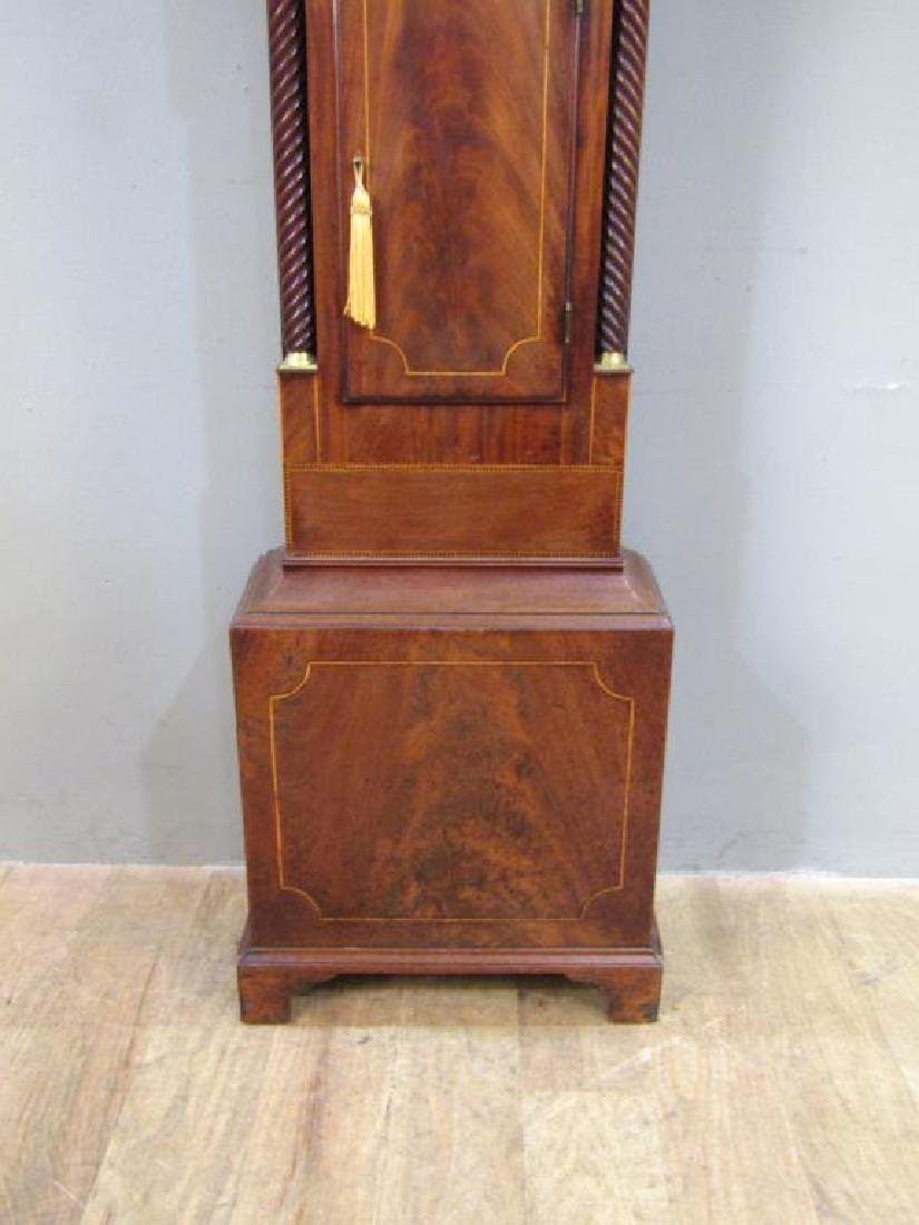 English Tall Case Clock by William Latch - 7