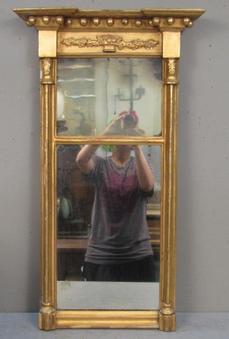 Antique Federal Giltwood Mirror