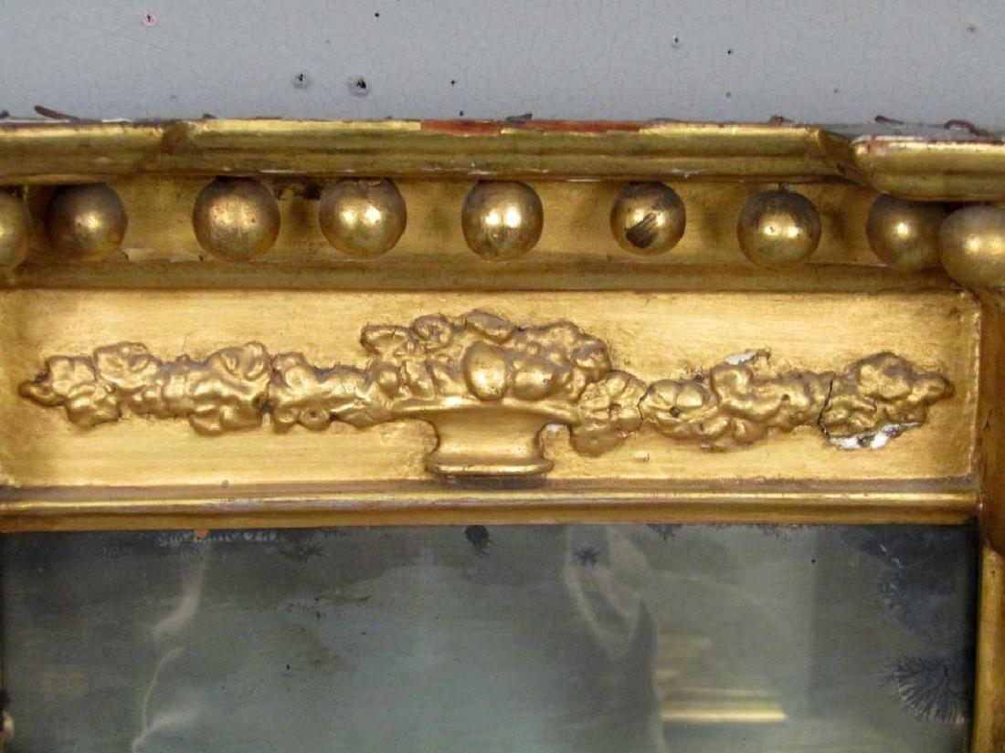 Antique Federal Giltwood Mirror - 3