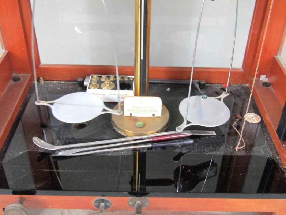 Chainomatic Wood Case Balance Scale - 3