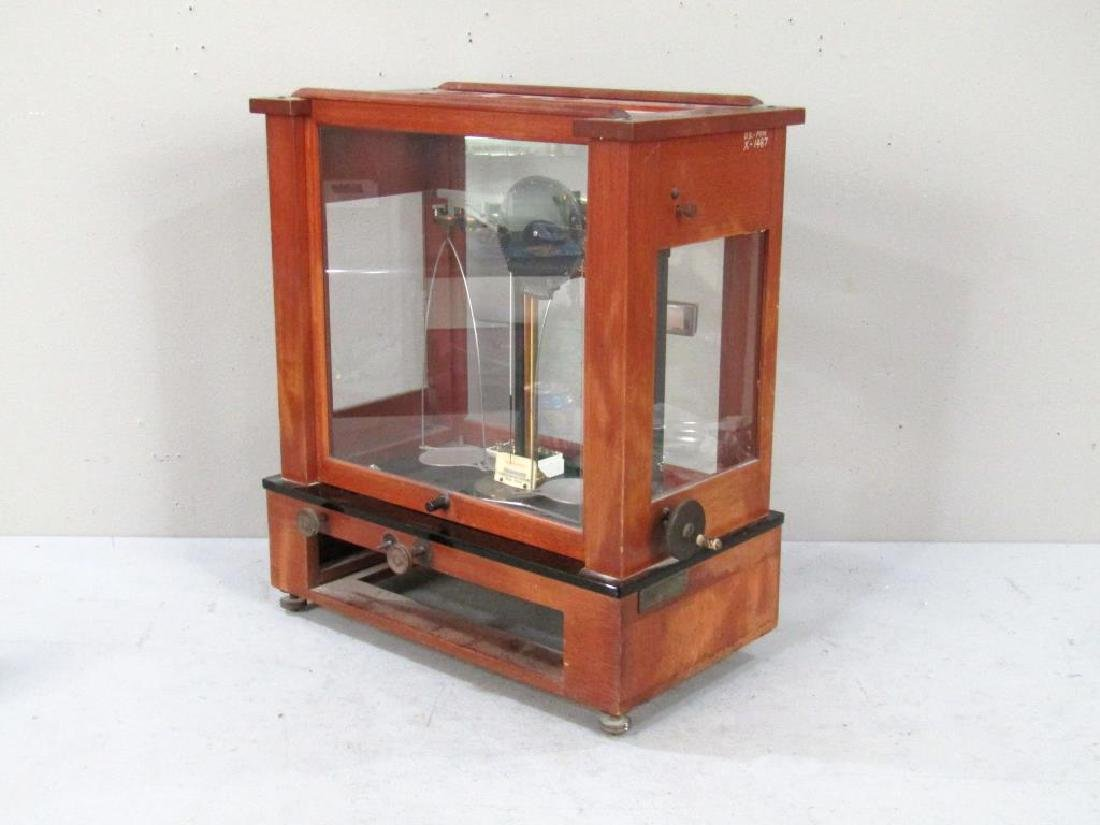 Chainomatic Wood Case Balance Scale - 8