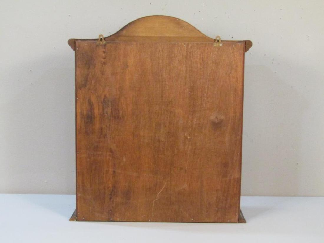Mahogany Hanging Display Cabinet - 3