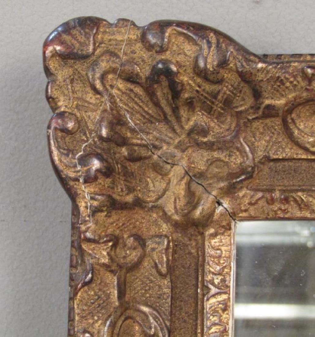 Georgian Style Gilt Framed Mirror - 2