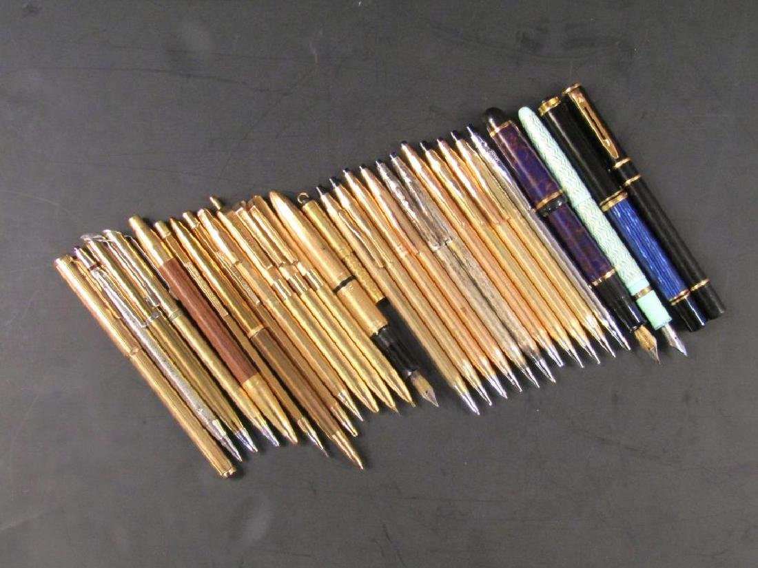 Large Collection Assorted Pens