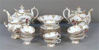 Antique Paris Porcelain Tea Service