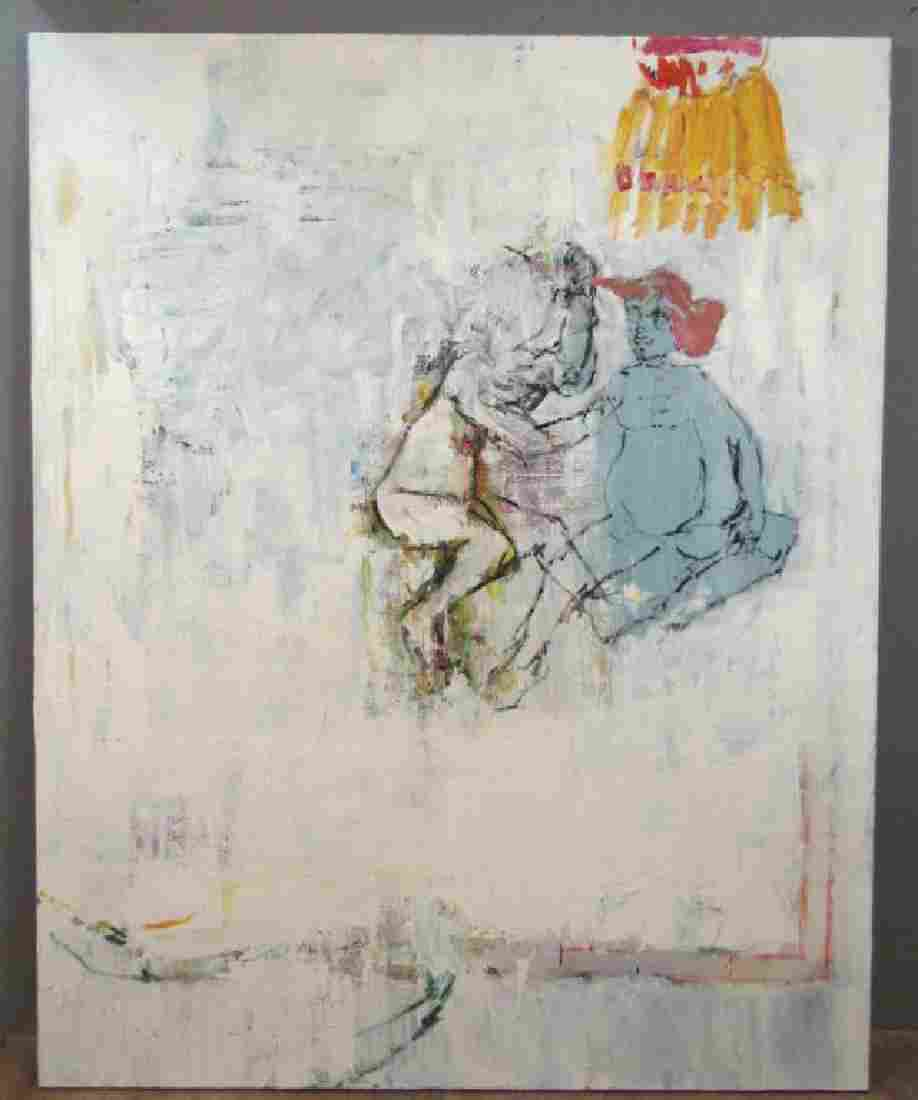 Sybille Rath (German, b.1970) - Large Oil on Canvas