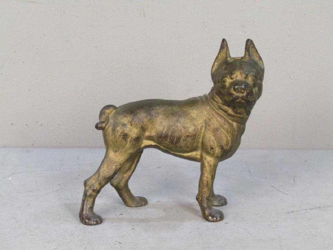 Cast Iron Bulldog Doorstop