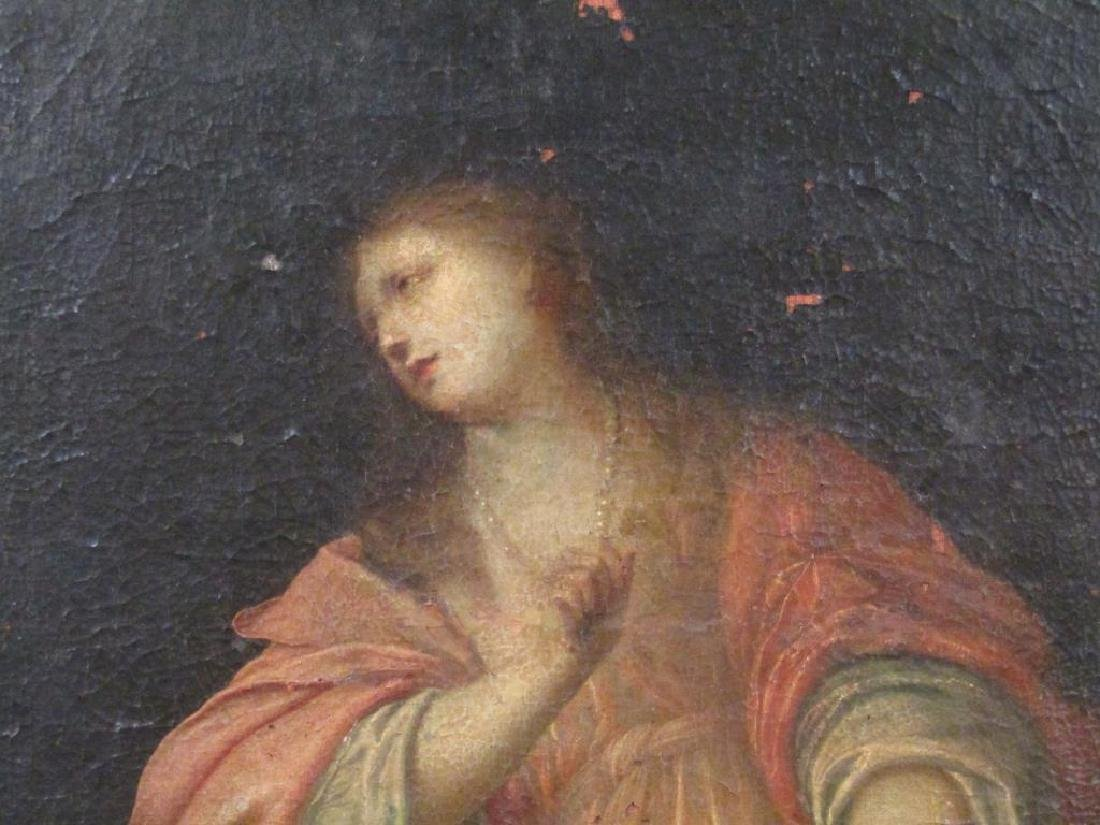 Antique Oil on Canvas of Mary Magdalene *** - 10