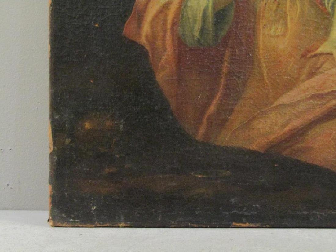Antique Oil on Canvas of Mary Magdalene *** - 8