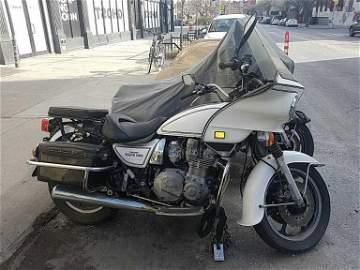 1995 Kawasaki KZ 1000 Police Motorcycle