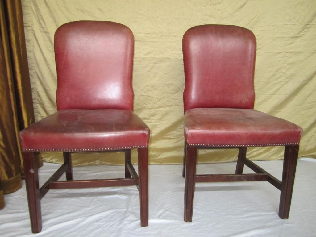 3: Pair English Style Side Chairs