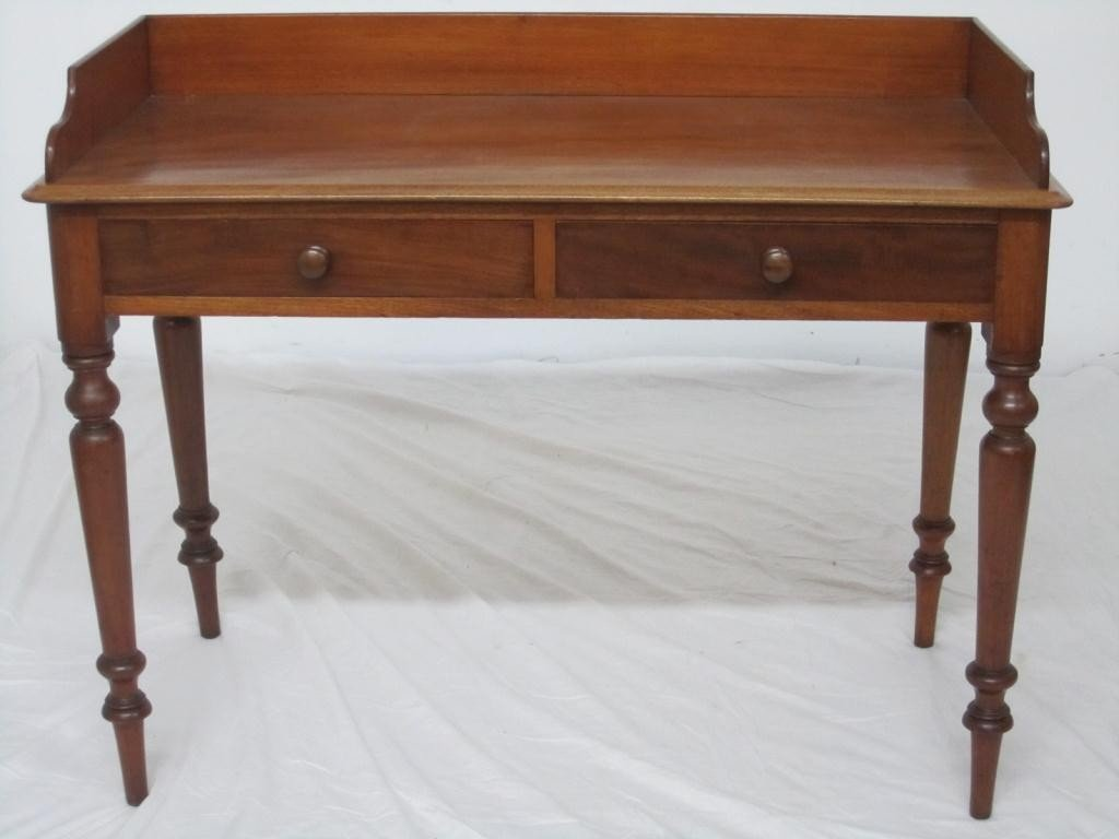 23: Antique English Serving Table
