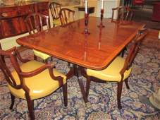 151: Set of 8 Schmieg & Kotzian Dining Chairs