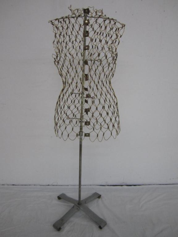 30: Vintage Wire Dress Form